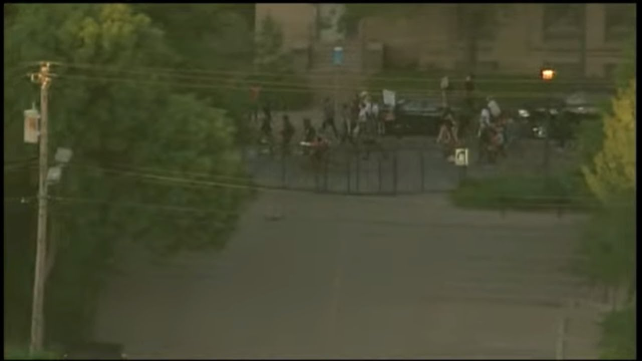 LIVE: Coverage of continuing protests in Minneapolis over the death of George Floyd
