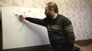 Физика. Урок № 19. Кинематика. Ускорение при равномерном движении по окружности