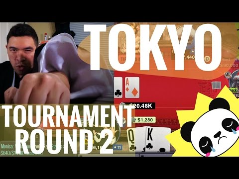 How To Win Tokyo Tournament Round 2 - WSOP App Game : The Samurai Within
