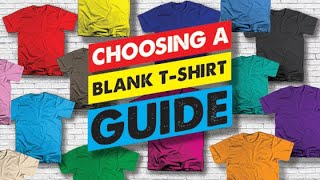 Top Best Blank T-Shirts For Your Clothing Line