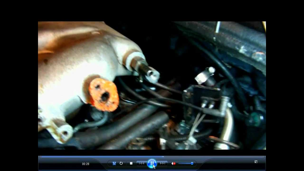 1999 Chrysler Sebring Convertible Sparkplug Change Youtube Silverado Wiring Harness Routing