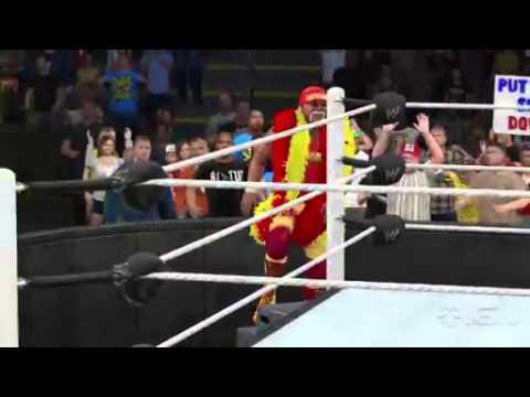 Wwe 2k15: Hulk Hogan Entrance - YouTube