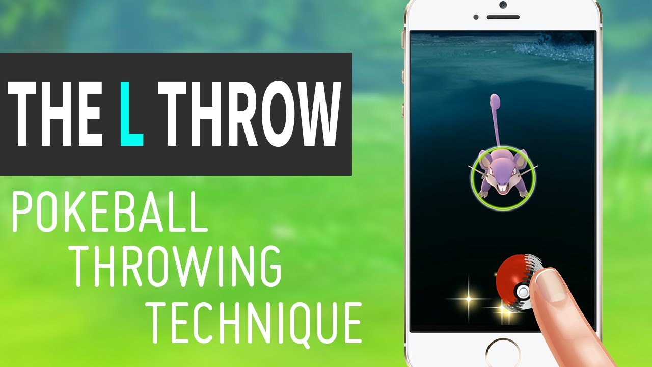 how to make great throws in pokemon go