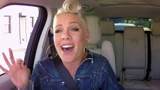 PINK - Carpool Karaoke (singing parts)