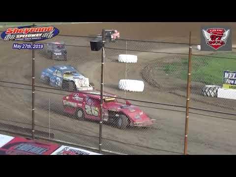Sheyenne Speedway WISSOTA MW Modified Heats (5/27/19)