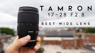 Tamron 17-28mm f2.8 First Look Review - BEST Wide Lens for Sony Cameras