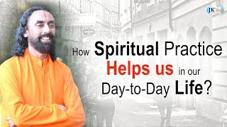 How Spiritual Practice Helps us in our Daily Life? | Q/A with Swami Mukundananda