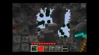 Minecraft PE TNTの威力を64倍にしてみた!