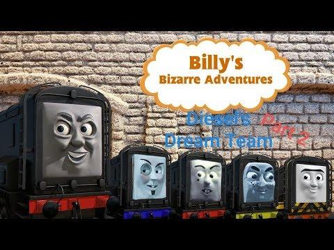 Billy's Bizarre Adventures S4 Ep4 Diesel's Dream Team Part 2