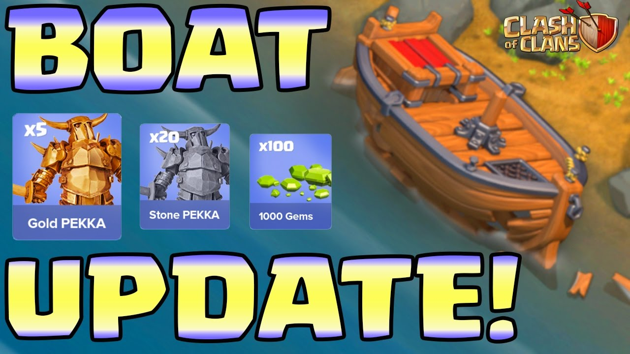 "maxresdefault - Clash of Clans update: Fans surprised after seeing ""BOAT"" in their clan, what's next?"