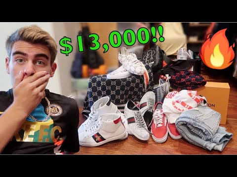 THE BIGGEST $13,000 HYPEBEAST SHOPPING SPREE EVER!!