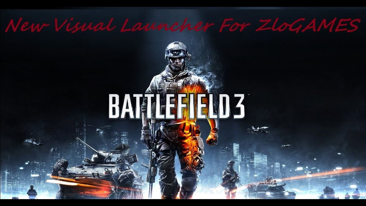 battlefield 3 zloGames new Launcher and DLL