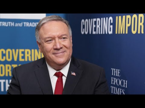 LIVE: Talk with Mike Pompeo: China on the Move & the Breakdown at the Border