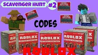 Roblox Scavenger Hunt #2 (closed) / Surprise Blind Bag Boxes, Unboxing Series 1 #robloxtoys
