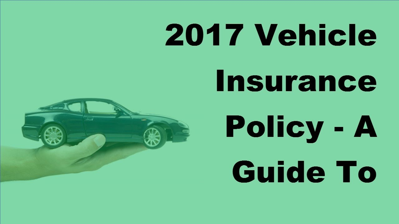 2017 Vehicle Insurance Policy | A Guide To Classic Car Insurance ...