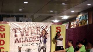 Louise Delos Reyes singing You Belong with Me at SM Sucat