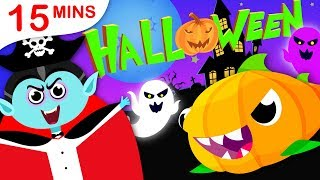 Halloween Songs Special | Baby Shark |  Where is My Nose? | 5 Little Pumpkins by Little Angel