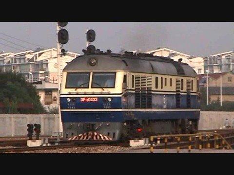 China - DF11's at Ningbo 09/09/2008