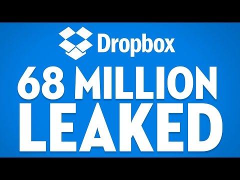 68 Million Dropbox Passwords LEAKED - THE LOOP