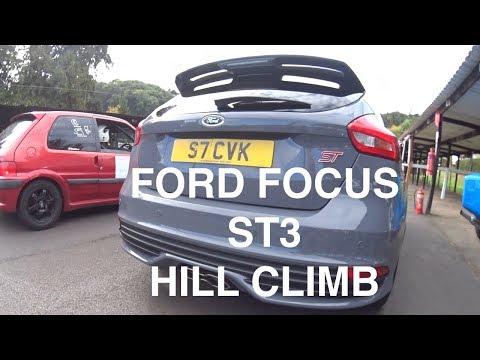 Ford Focus ST3 hill climb run (at Shelsley Walsh)