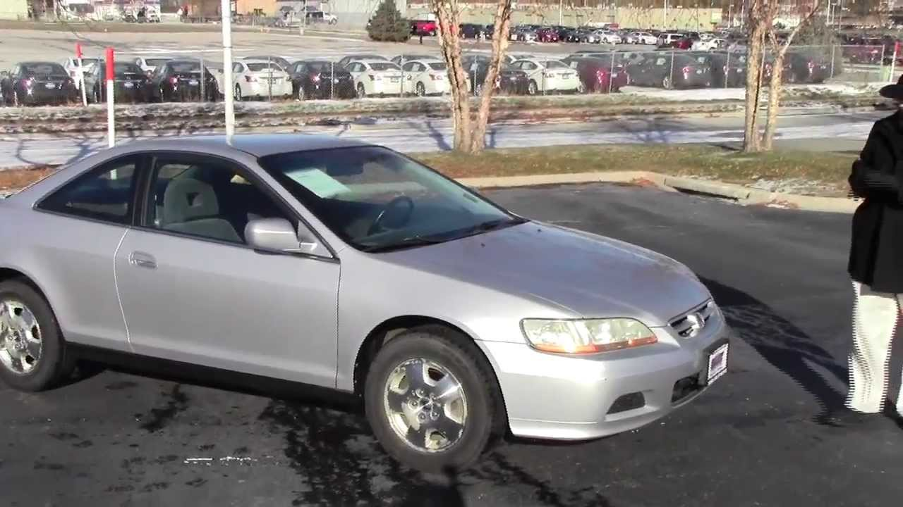 Used 2001 Honda Accord LX V6 Coupe For Sale At Honda Cars Of Bellevue...an  Omaha Honda Dealer!   YouTube