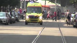 PRIO 1 POLITIE DHV TS43-2 OD90-1 / A1 AMBU 17-143 HV: VOERTUIG PERSONEN Rotterdam (wereldhavendagen)