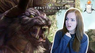 I HATE YOU BEHEMOTH! | Monster Hunter World Final Fantasy Crossover Gameplay