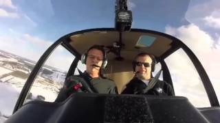 Robinson R-44 Normal Take Off & Landing Transition Helicopter Ground School Member