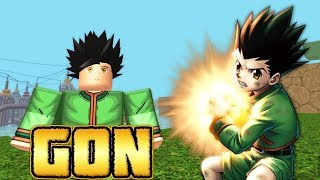 Becoming Gon Freecss from Hunter x Hunter in Nindo RPG: Beyond!   Roblox