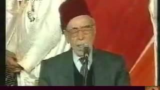 شيخ الطرب صبري مدلل وفرقته  _ في وصلة موشحات حلبية