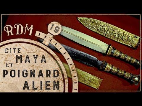 Cité Maya et poignard Alien - RDM #19