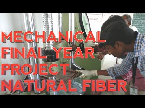 Mechanical Final Year project (Natural Fiber Composite Material)