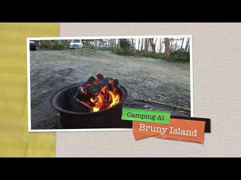 Camping At Bruny Island