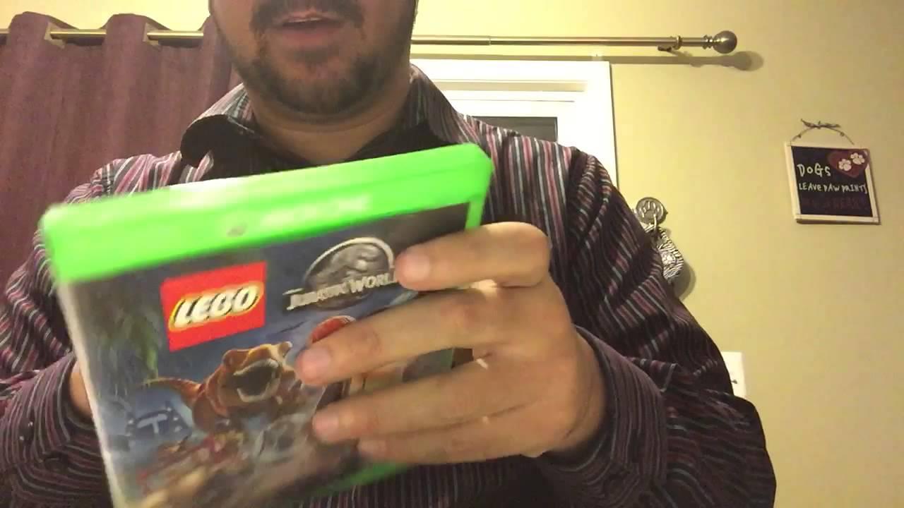lego jurassic world xbox one unboxing  youtube