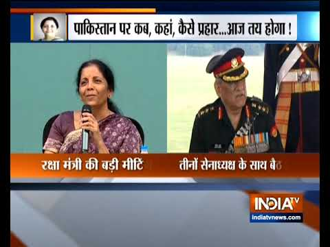 Nirmala Sitharaman addresses the conclave of Defence Attaches deployed across the globe