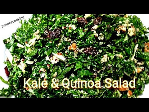 Kale and Quinoa Salad (Replicate Me Ep. 1)