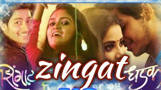Dhadak zingat VS sairat zingat , Hindi remix with marathi zingat,Hindi zingat song mix with marathi.