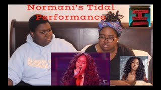 Normani Tidal Performance REACTION