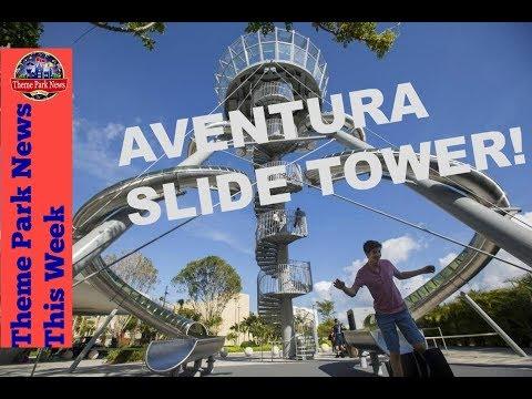 Theme Park News This Week | Aventura Mall Slide Tower S2E52