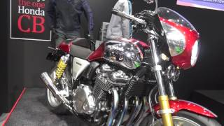 HONDA CB1100RS Customized Concept. White House. Tokyo Motorcycle Show 2017 thumbnail