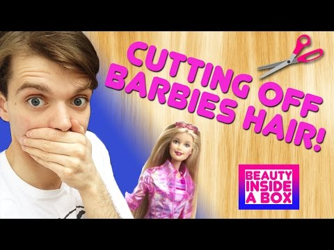 Barbie Cut 'n' Style - Vintage Doll Review - Beauty Inside A Box