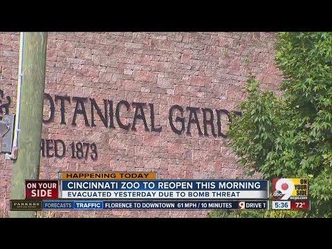 Cincinnati Zoo reopens after Thursday's evacuation