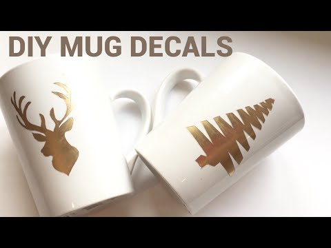 Dollar Tree DIY| How to make custom designed mugs * NO Machine needed