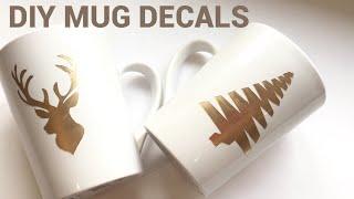 Dollar Tree Diy| How To Make Custom Designed Mugs * No Machine Needed
