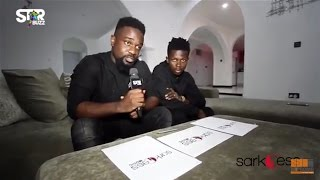 SARKODIE Signed STRONGMAN To SARKCESS MUSIC