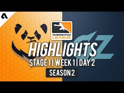 Chengdu Hunters vs Guangzhou Charge | Overwatch League S2 Highlights - Stage 1 Week 1 Day 2