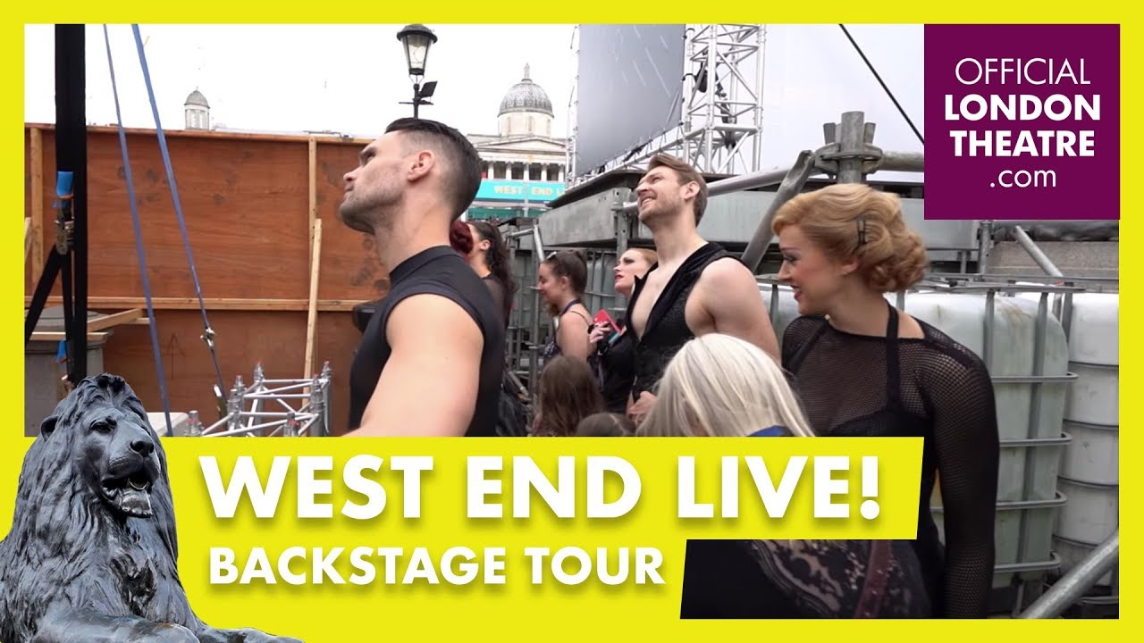 What's it like backstage at West End Live?