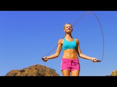 Upper Body & Jump Rope Cardio Workout ★ Burn Fat, Lose ...