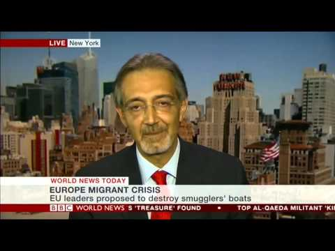 BBC World News: Francesco Rocca the President of the Italian Red Cross/Vice President IFRC