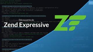 Tutoriel Zend Expressive : Zend Expressive